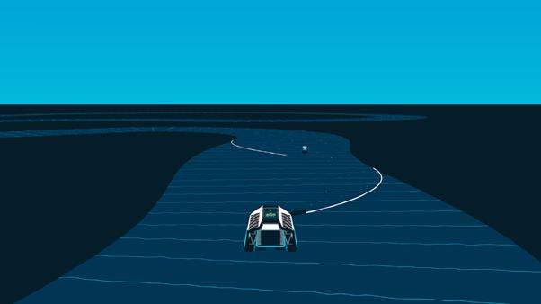 Figure 1: Interceptor: how it works (The Ocean Cleanup©)