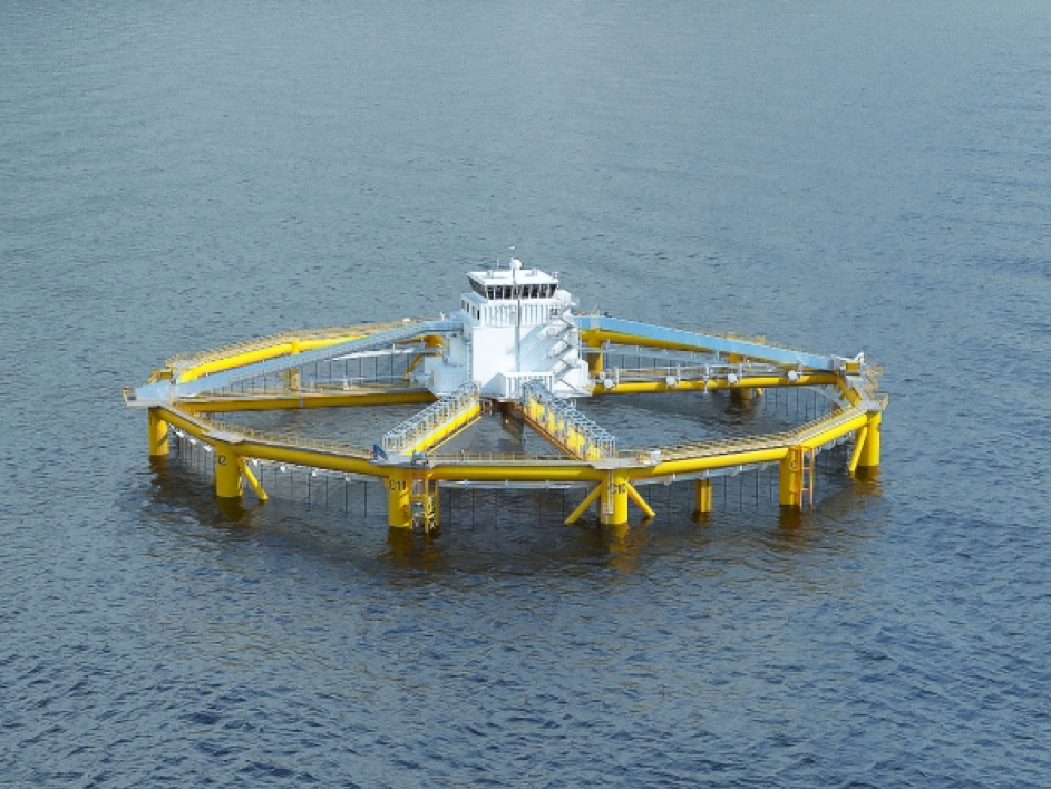 Offshore Fish Farm design by Global Maritime