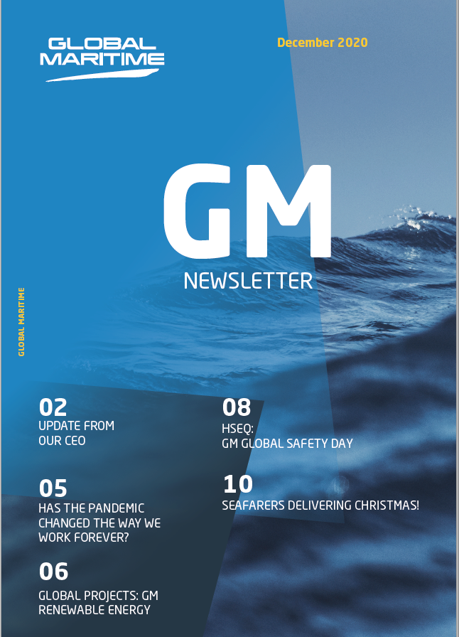 Global Maritime Newsletter front page December 2020